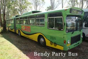 Bendy Party Bus